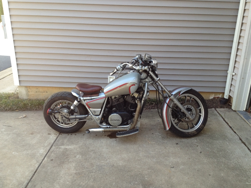Bobber Project - 1984 Honda Shadow Vt 700c